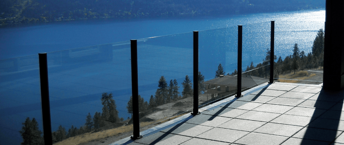 Semi-Frameless Glass Pool Fence
