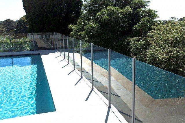 Semi-Frameless Glass Pool Fence